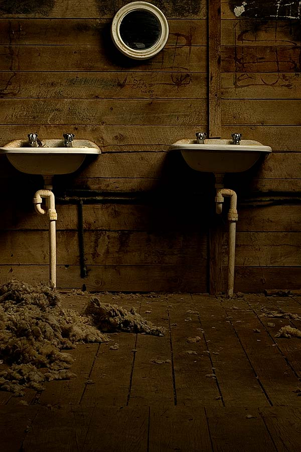 Basins, Wingerdee Station, Artistic Photography