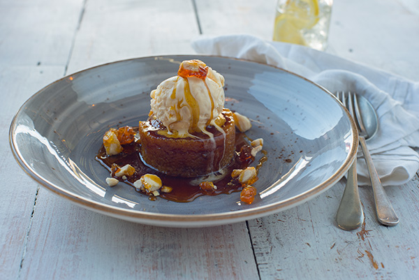 Steamed Golden Syrup Pudding, Food Photography, Goodman Fielder, Guy Adamson, Sydney Photographer