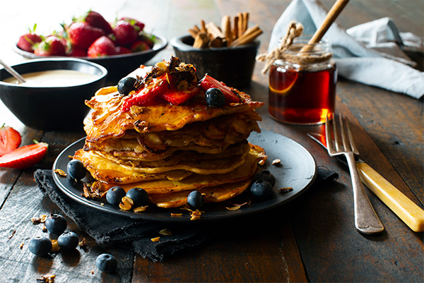 Pancakes, Food Photography