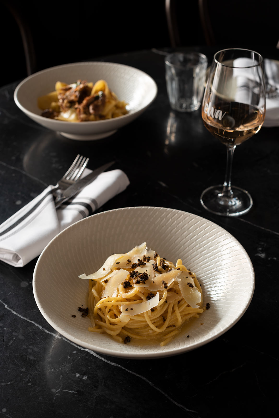 Bucatini al Tartufo, Food Photography, Elva Bondi, Guy Adamson, Sydney Photographer