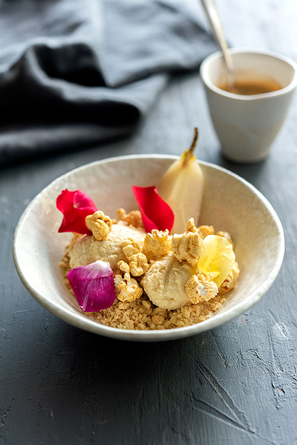 Beurre Noisette Ice Cream, Goodman Fielder Food Photography, Guy Adamson, Sydney Photographer