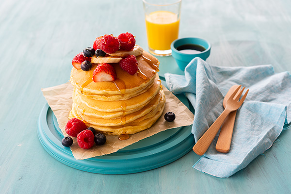 Summer Pancakes, Goodman Fielder Food Photography, Guy Adamson, Sydney Photographer