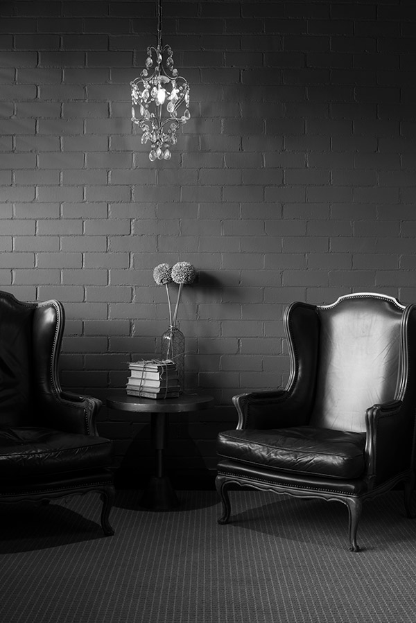Reading Room, Berida Hotel, Guy Adamson, Sydney Photographer